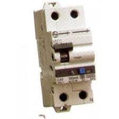 L&T RCBOs (Residual Current Breaker with Overcurrent Protection) 2P Adi 16A AUF3D201603