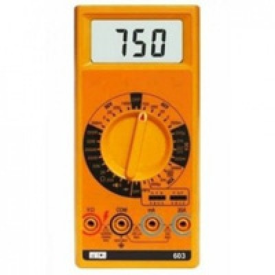 MECO MODEL 603 3½ Digit 2,000 Count LCD 17mm Large LCD, Audiable Continuty, Diode & hFE Testmodel