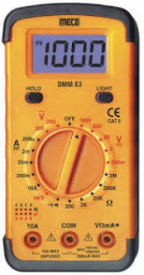 Meco MODEL 603 JUNIOR  3½ Digit 2,000 Count LCD Audiable Continuty, Data Hold Diode, hFE Test & Backlight Display Ranges