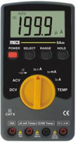 MECO MODEL 9A 06 Auto / Manual, 3½ Digit, 2,000 Count LCD, APO & Temperature