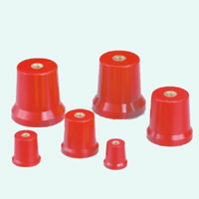Insulators m12 Red 50x50mm POLYESTER RESIN BASE INSULATOR self-extinguishing 5 Piece