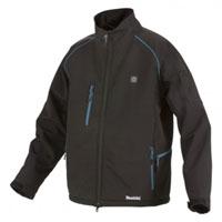 Makita Cordless Heated Jacket - DCJ205YL  5 heat zones provide optimum heat distribution