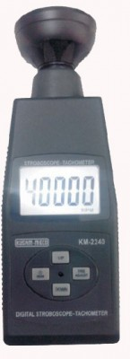 KUSUM MECO Stroboscope -Frequency velocity Device 5 Digit 40,000 Count Backlight LCD Display