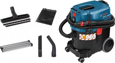 BOSCH Wet/Dry Extractor GAS 35 L SFC+ Professional most convenient semi-automatic filter cleaning