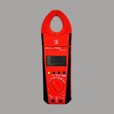 Rishabh Clamp Power 400A AC/DC Digital Clamp Meter