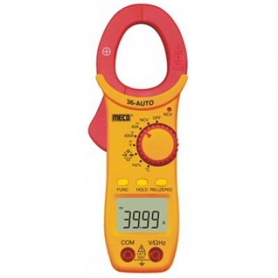 MECO Model 36 AUTO DC / AC DIGITAL CLAMPMETER