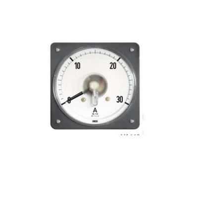 MECO DC MOVING COIL DIN PANEL AMMETER & VOLTMETERS   ML110 DC