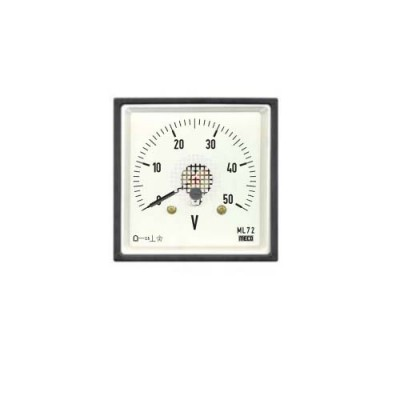 MECO DC MOVING COIL DIN PANEL AMMETER & VOLTMETERS   ML144 DC
