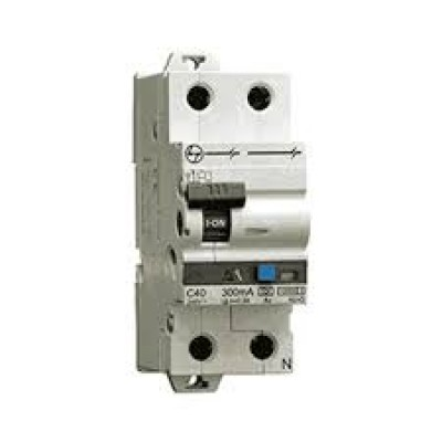L&T RCBOs (Residual Current Breaker with Overcurrent Protection) 2P Adi 40A AUF3D204003