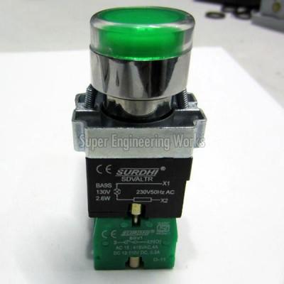 SURDHI Luminous Actuator With Cluster LED  SDV-LDALTR (HSN 8536)